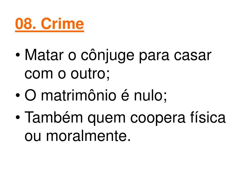 08. Crime