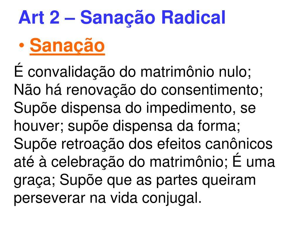 Art 2 – Sanação Radical