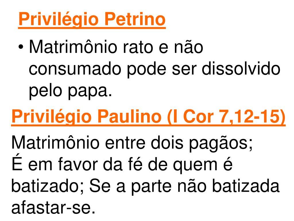 Privilégio Petrino