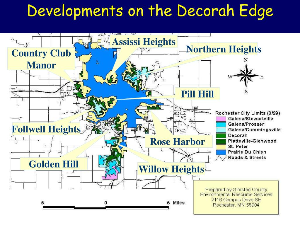 Developments on the Decorah Edge