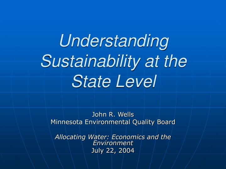Understanding sustainability at the state level l.jpg