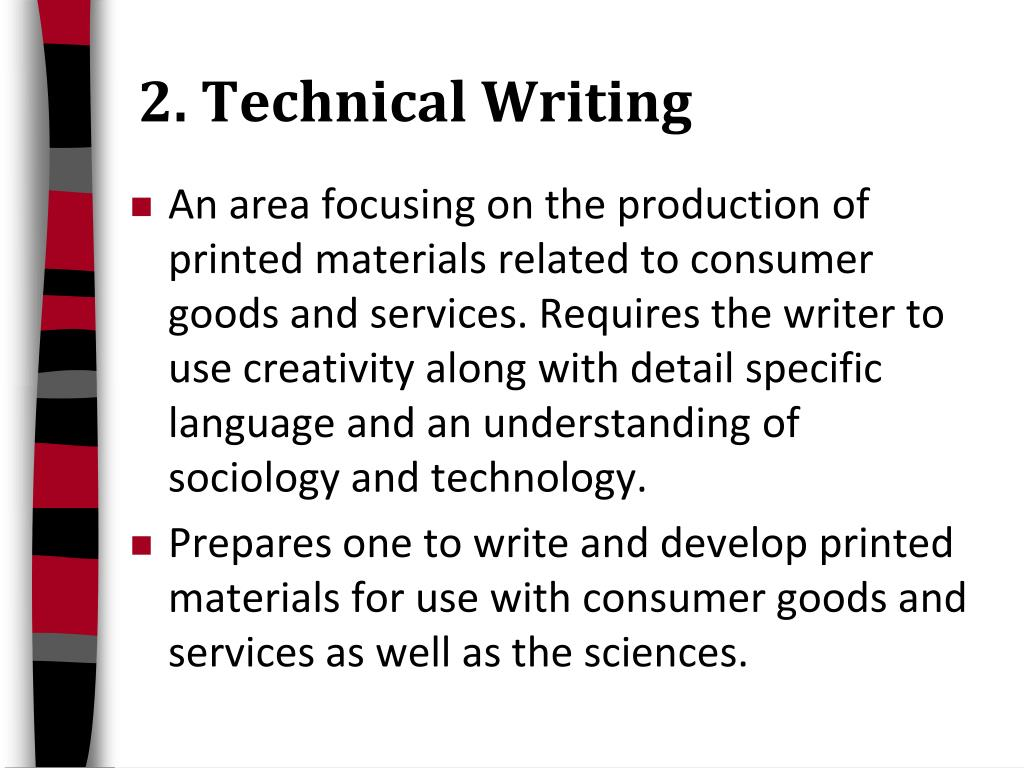 2. Technical Writing