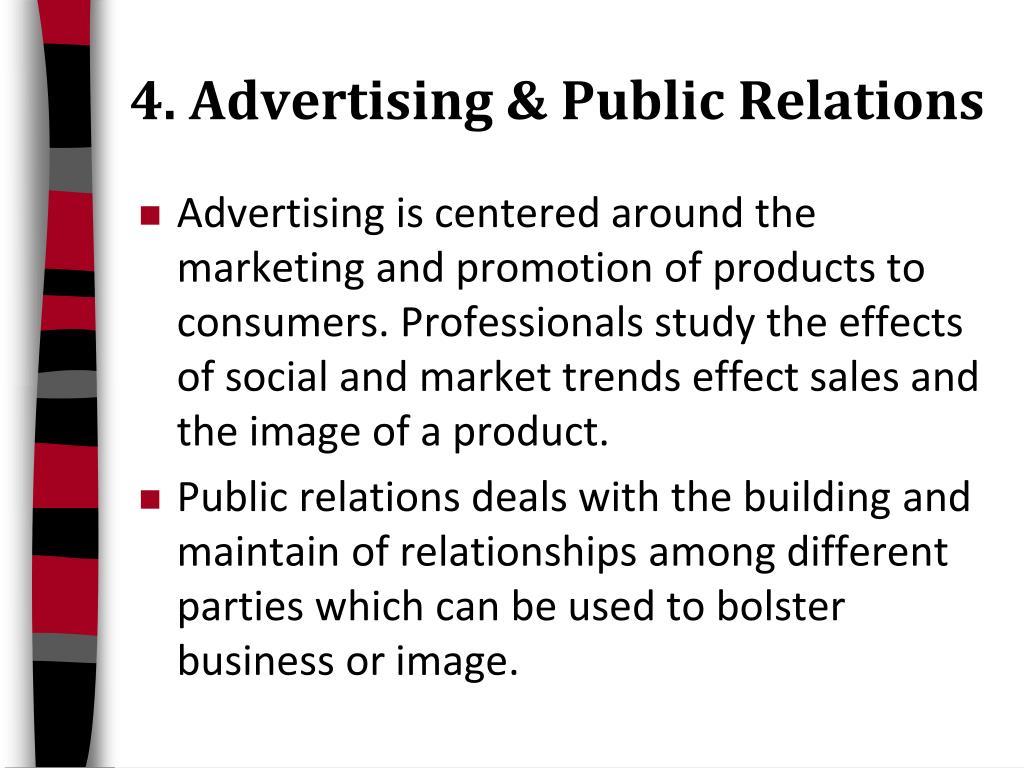 4. Advertising & Public Relations