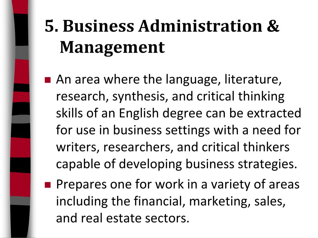 5. Business Administration &