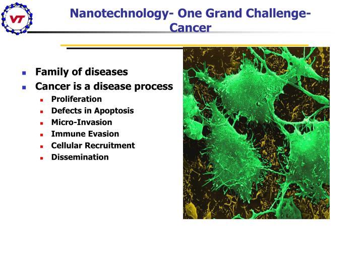 Nanotechnology- One Grand Challenge-