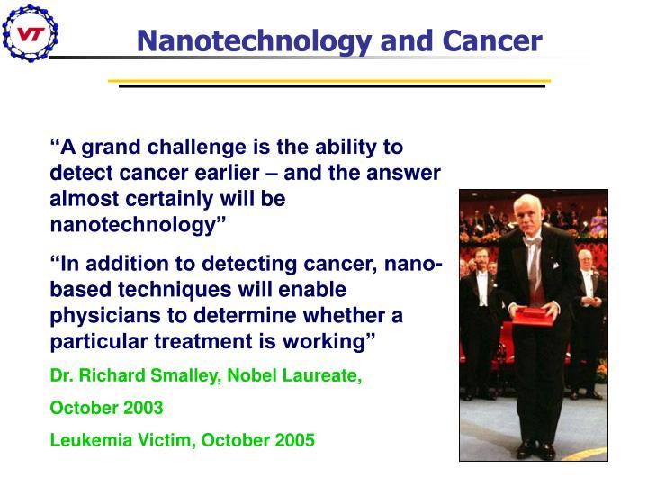 Nanotechnology and Cancer