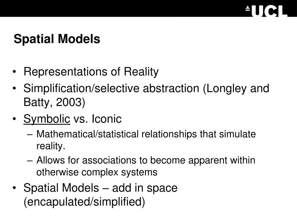 Spatial Models