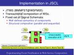 implementation in jscl