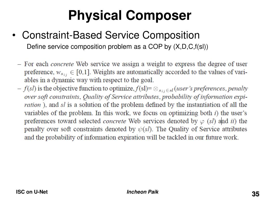 Physical Composer