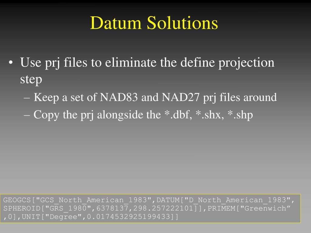 Datum Solutions