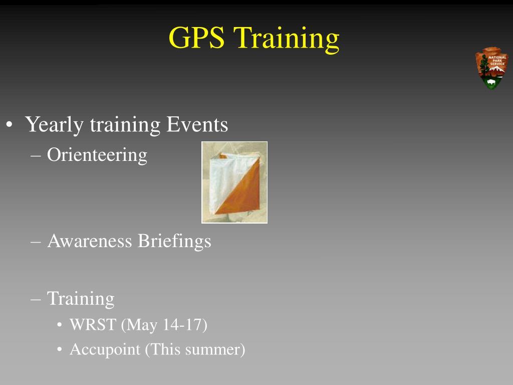GPS Training