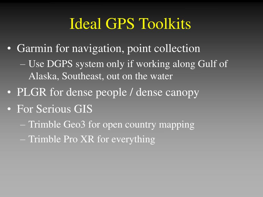 Ideal GPS Toolkits