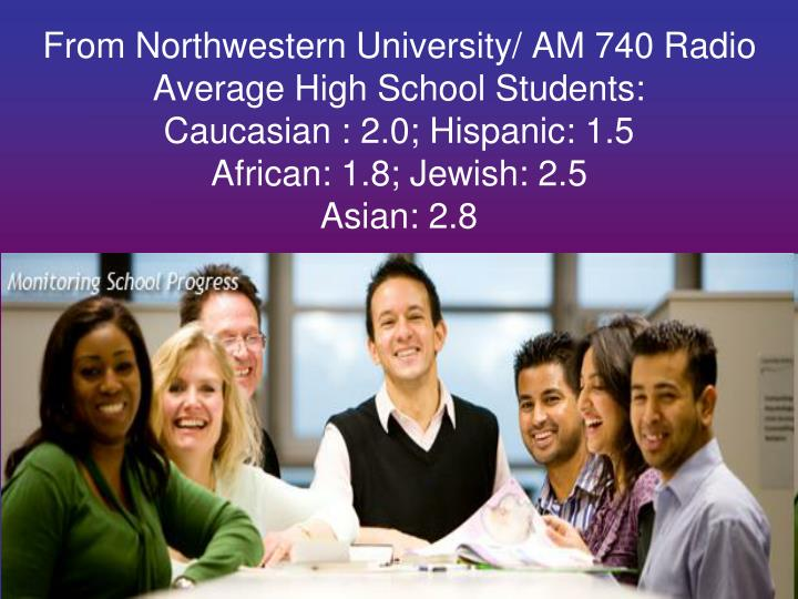 From Northwestern University/ AM 740 Radio