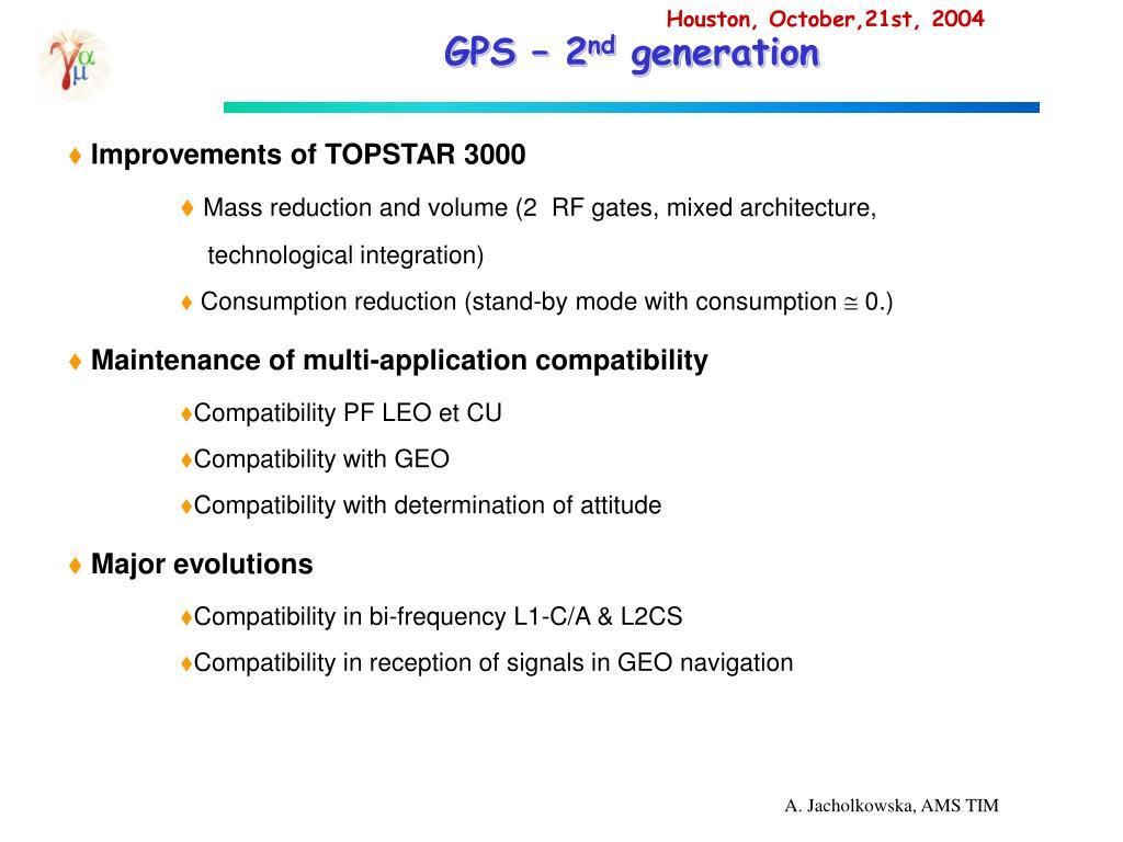 GPS – 2