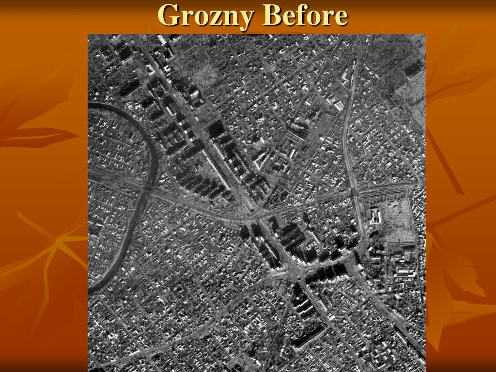 Grozny Before