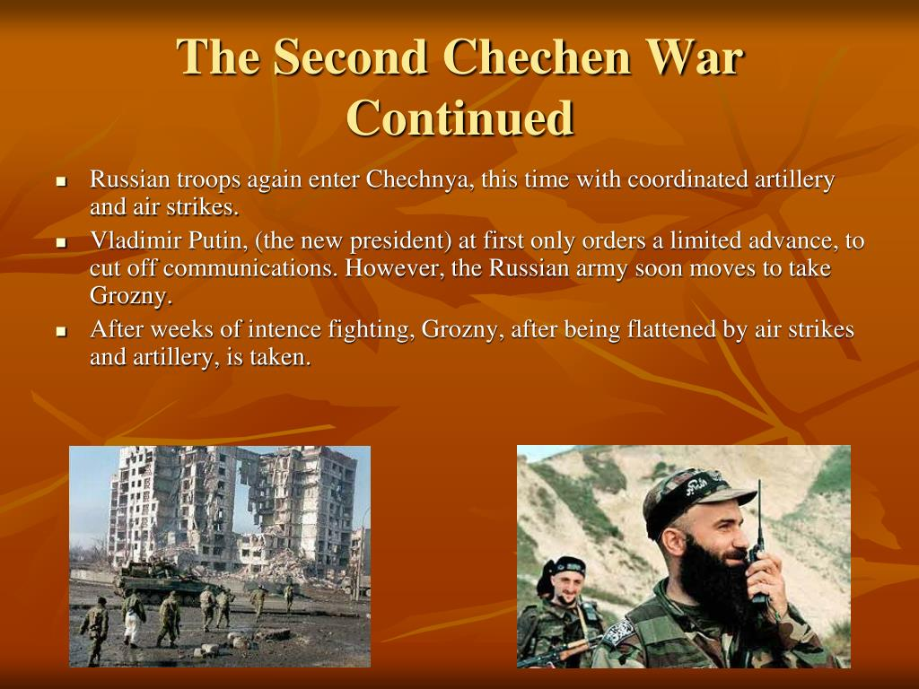 The Second Chechen War Continued