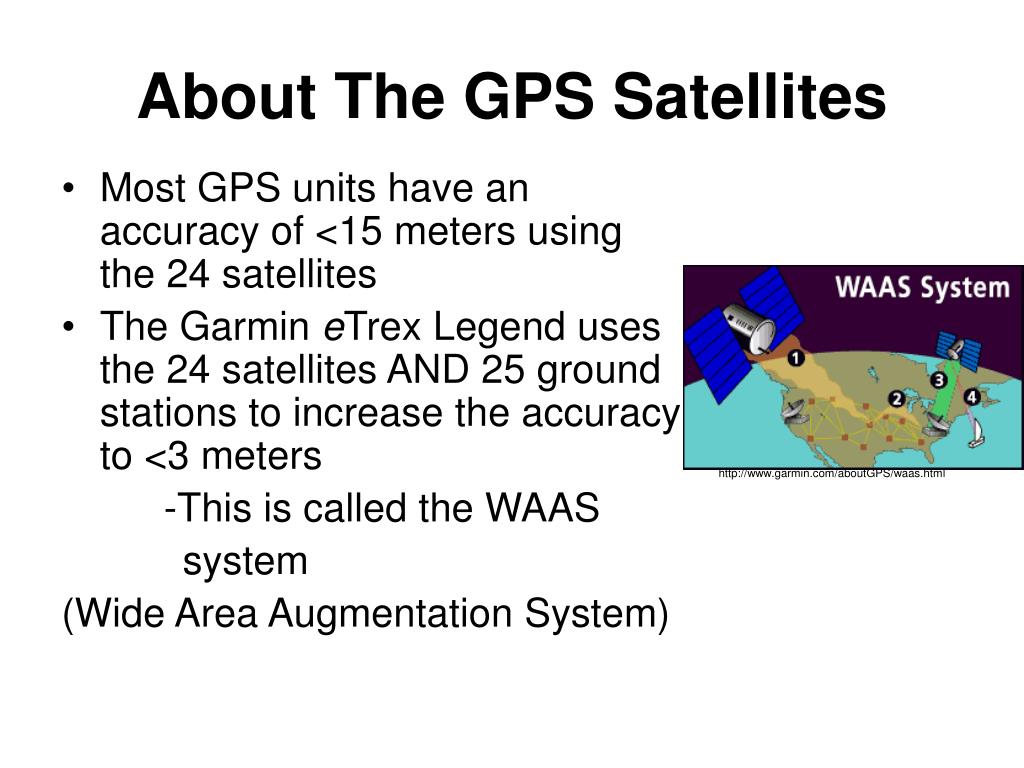 About The GPS Satellites
