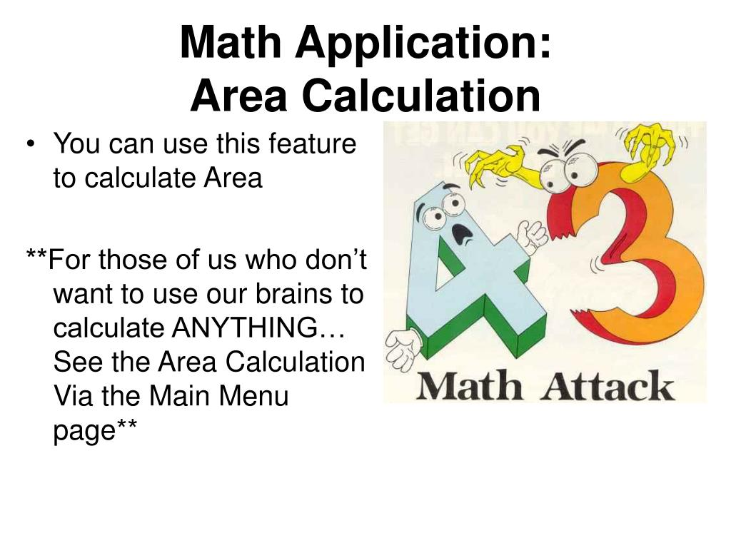 Math Application: