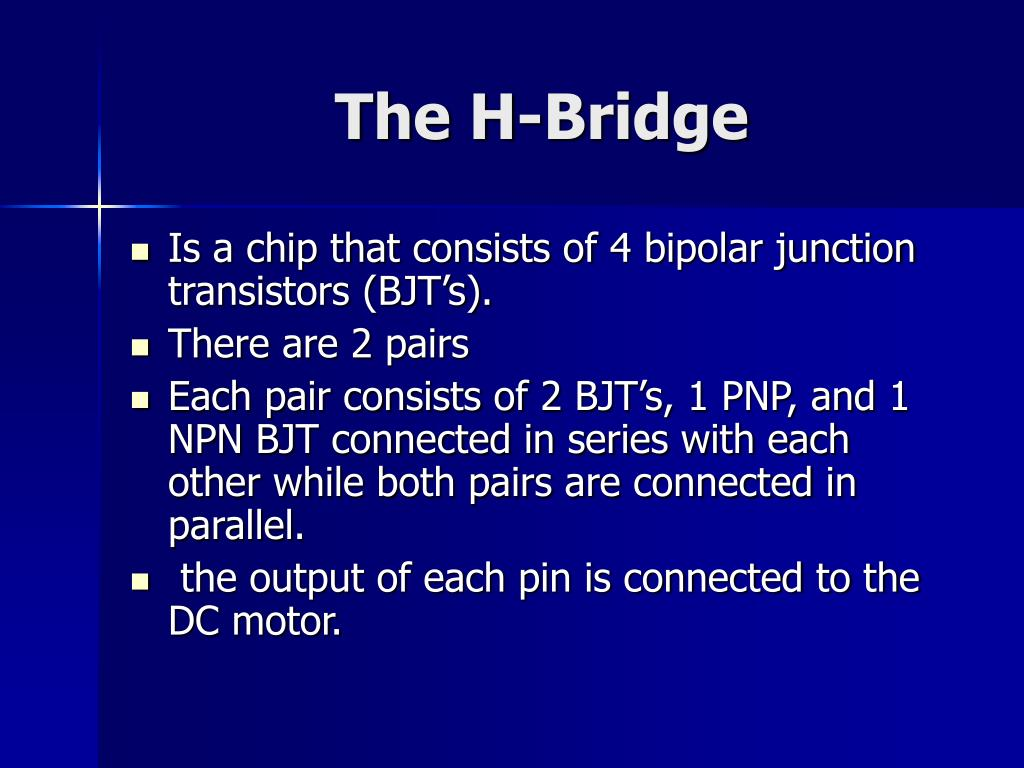 The H-Bridge