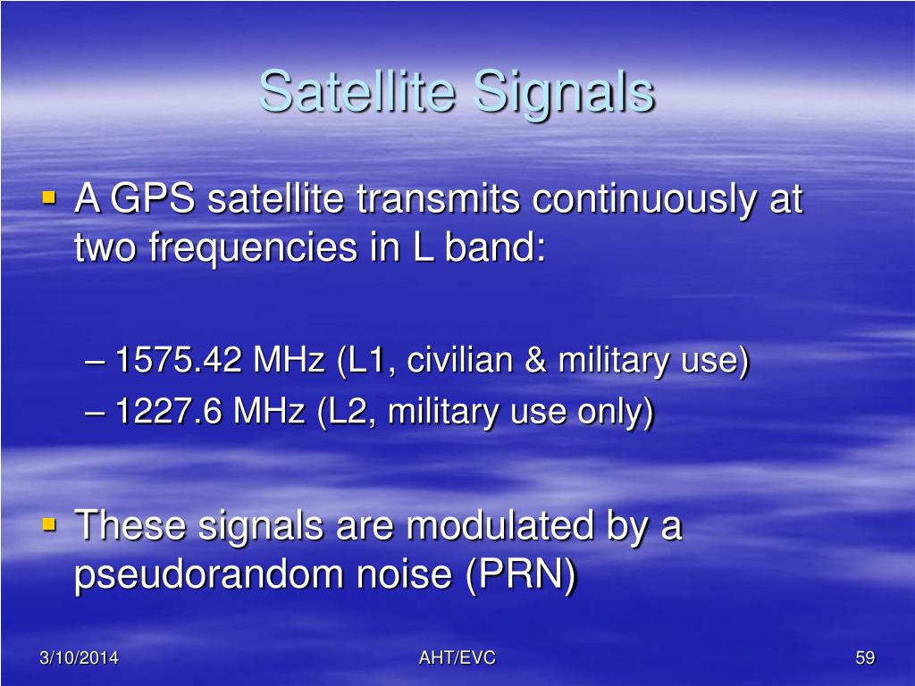 Satellite Signals