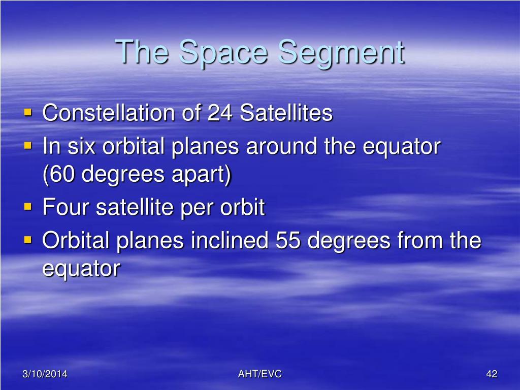 The Space Segment
