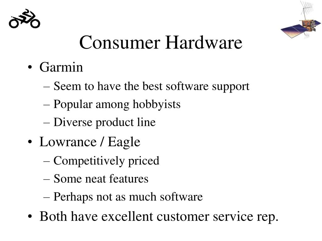 Consumer Hardware