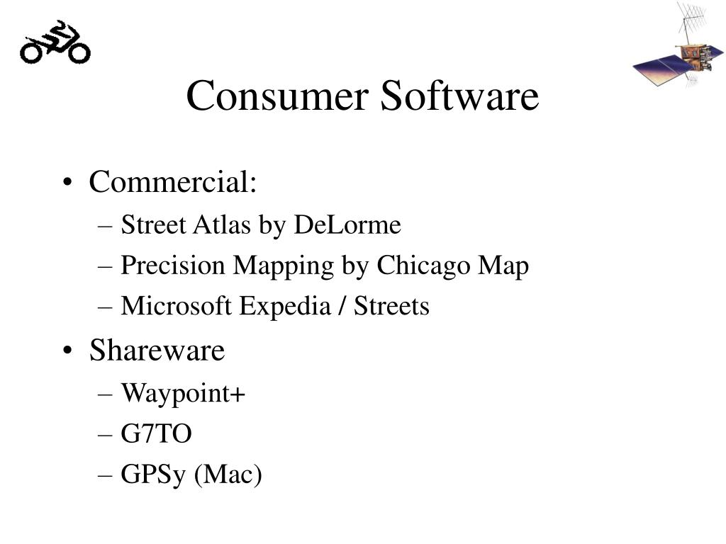 Consumer Software