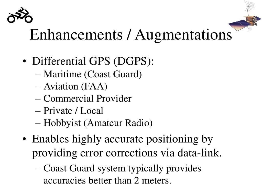 Enhancements / Augmentations