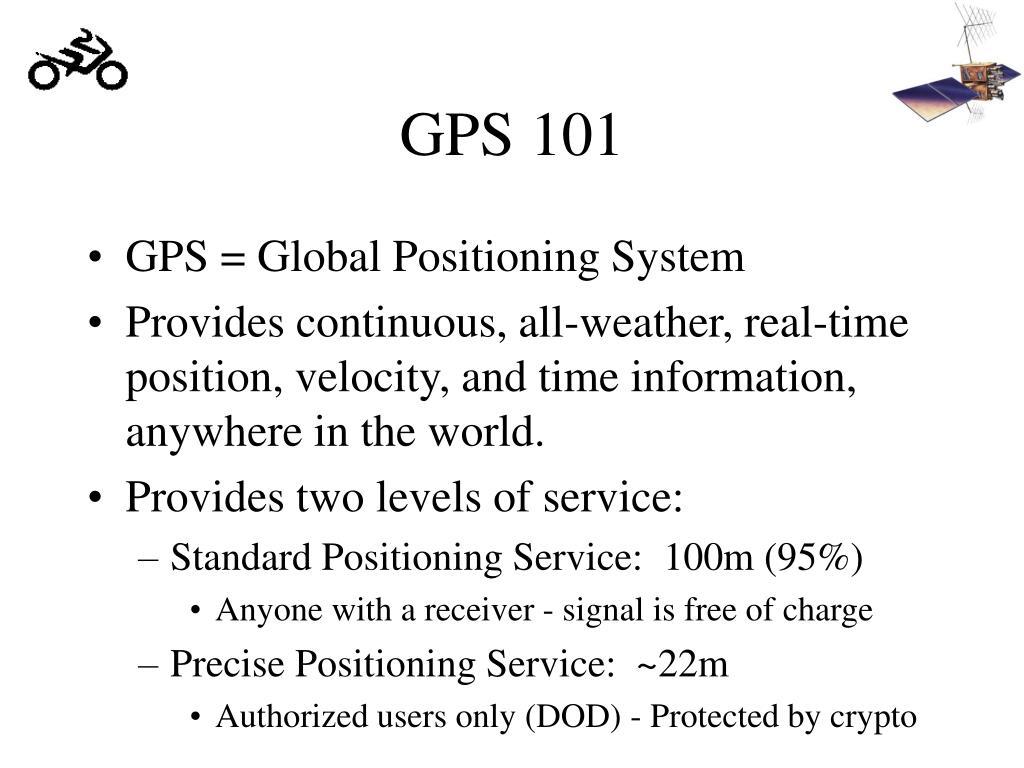GPS 101
