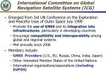 international committee on global navigation satellite systems icg