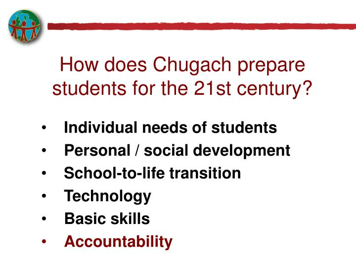 How does Chugach prepare students for the 21st century?