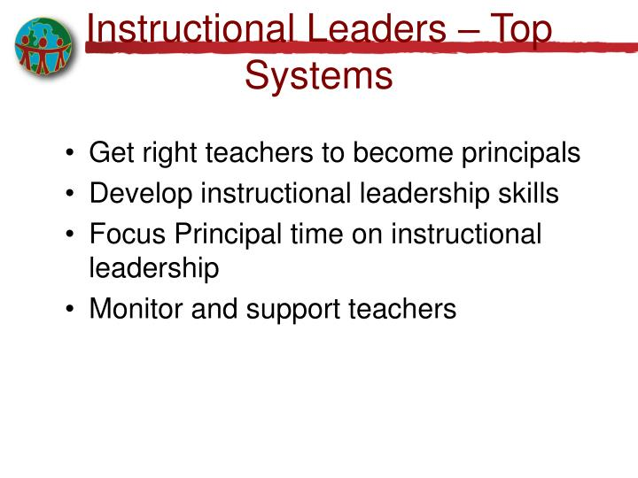 Instructional Leaders – Top Systems