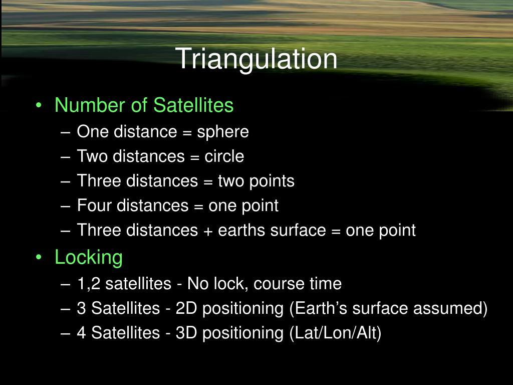 Triangulation