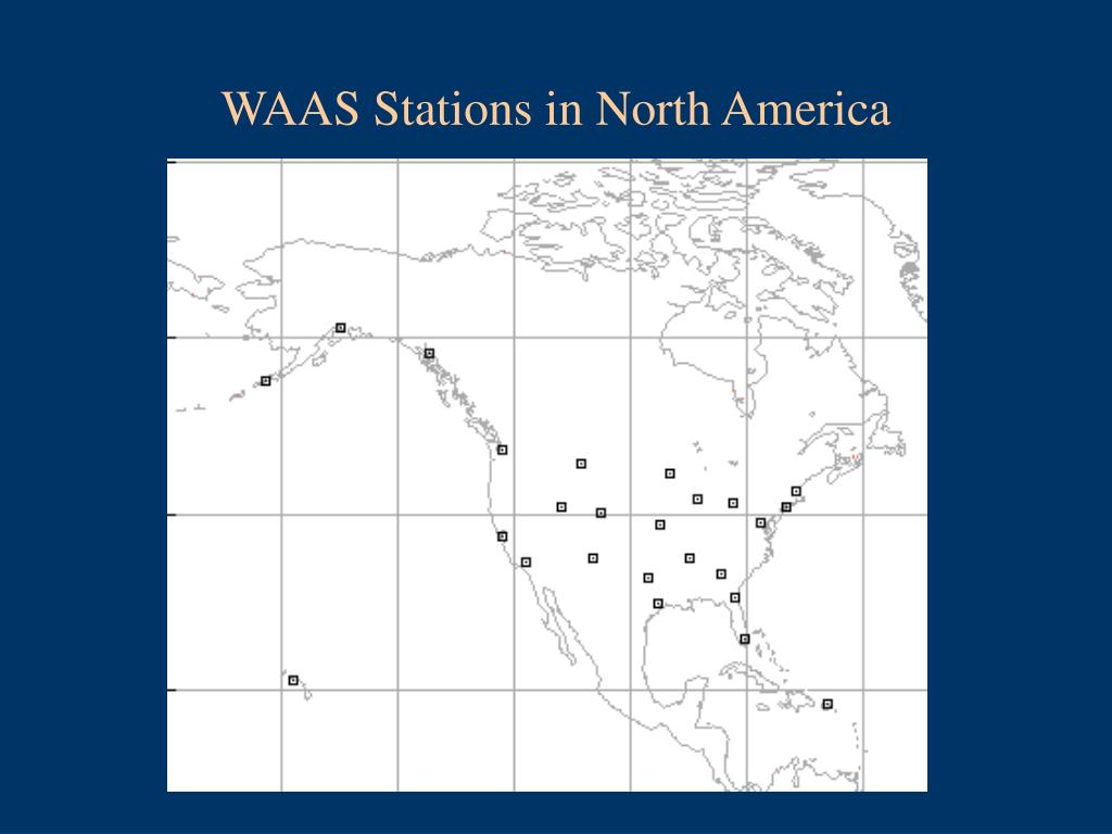 WAAS Stations in North America
