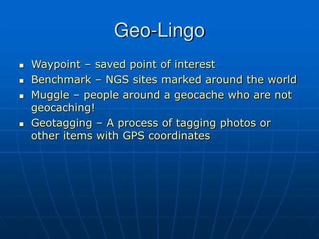 Geo-Lingo