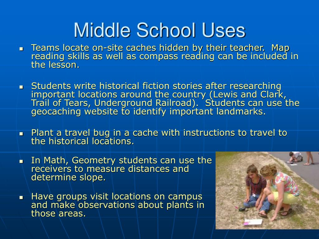 Middle School Uses
