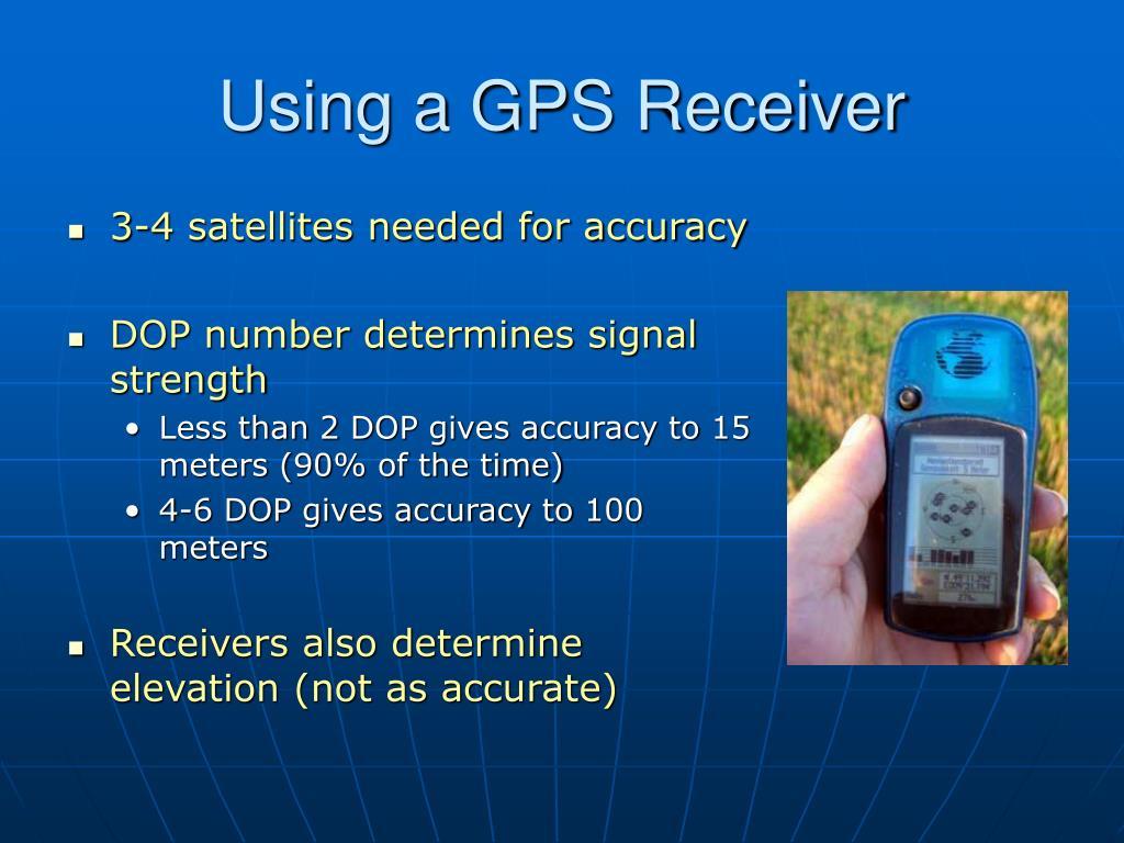 Using a GPS Receiver