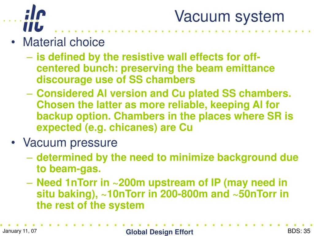 Vacuum system