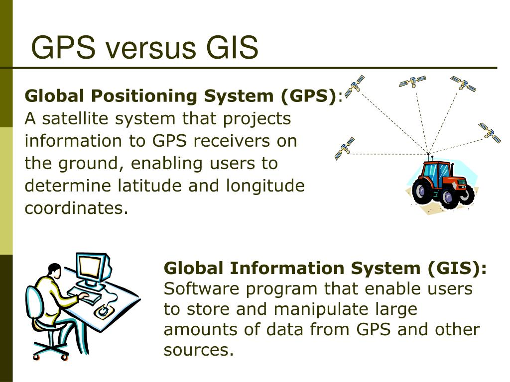 GPS versus GIS