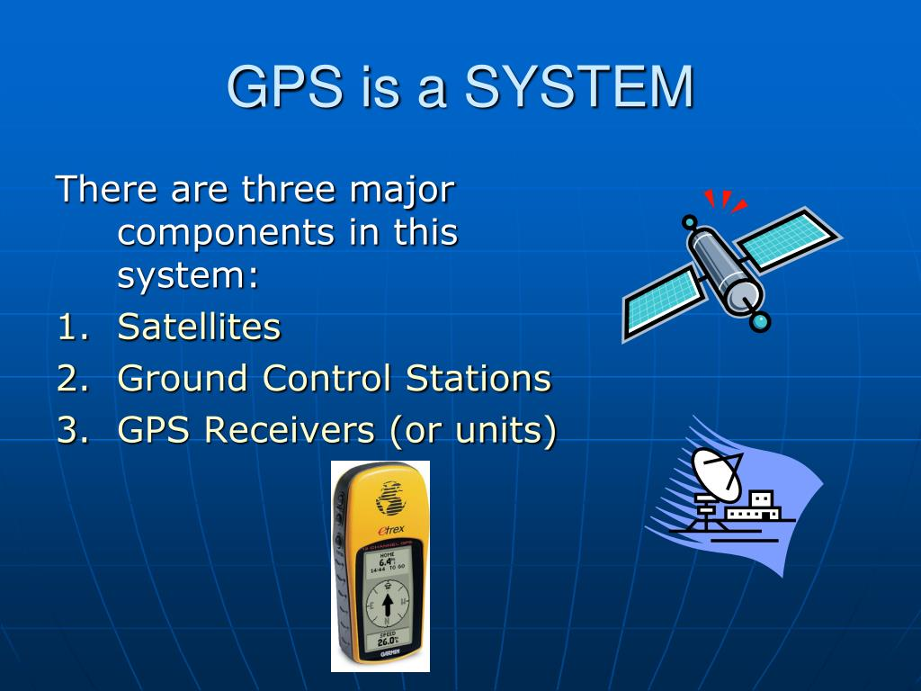 GPS is a SYSTEM