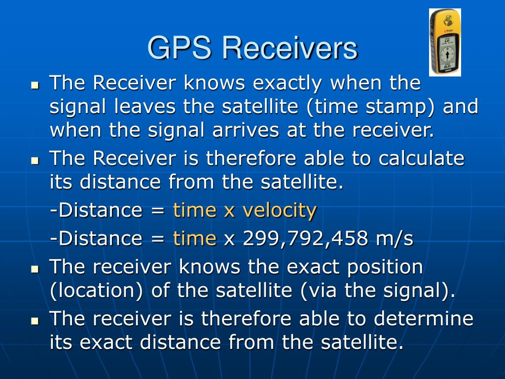 GPS Receivers