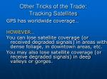 other tricks of the trade tracking satellites