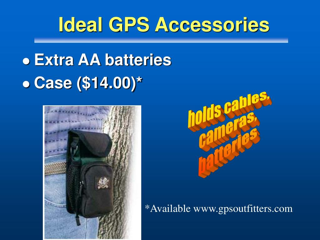 Ideal GPS Accessories