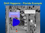 shift happens florida example