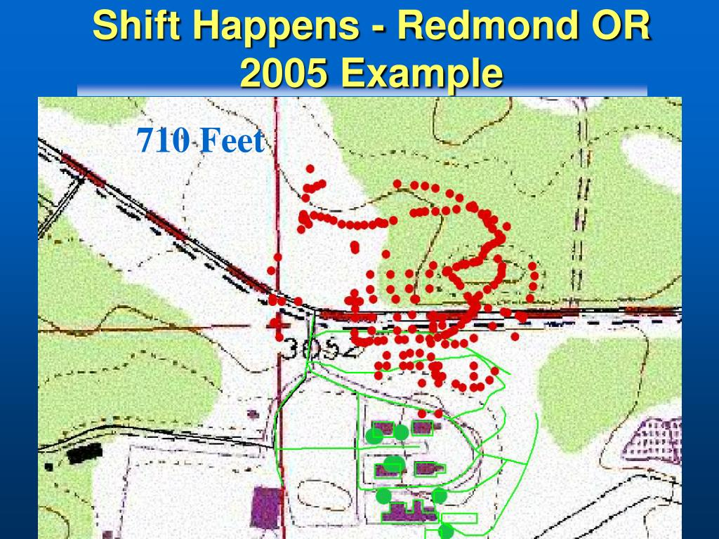 Shift Happens - Redmond OR 2005 Example