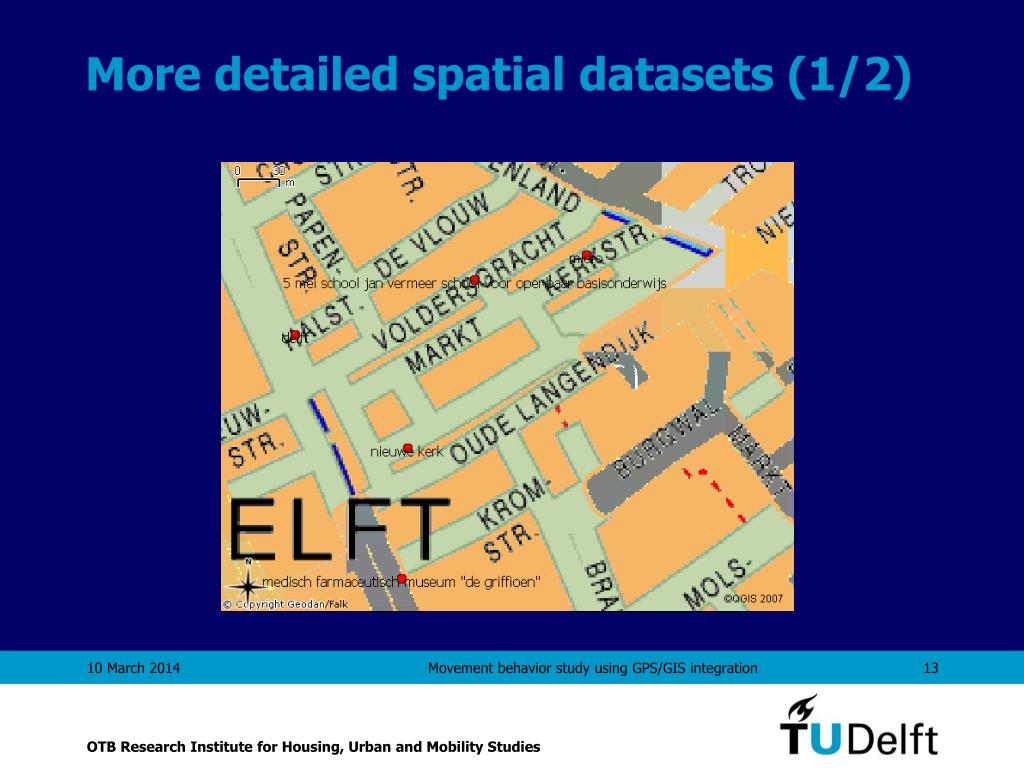 More detailed spatial datasets (1/2)