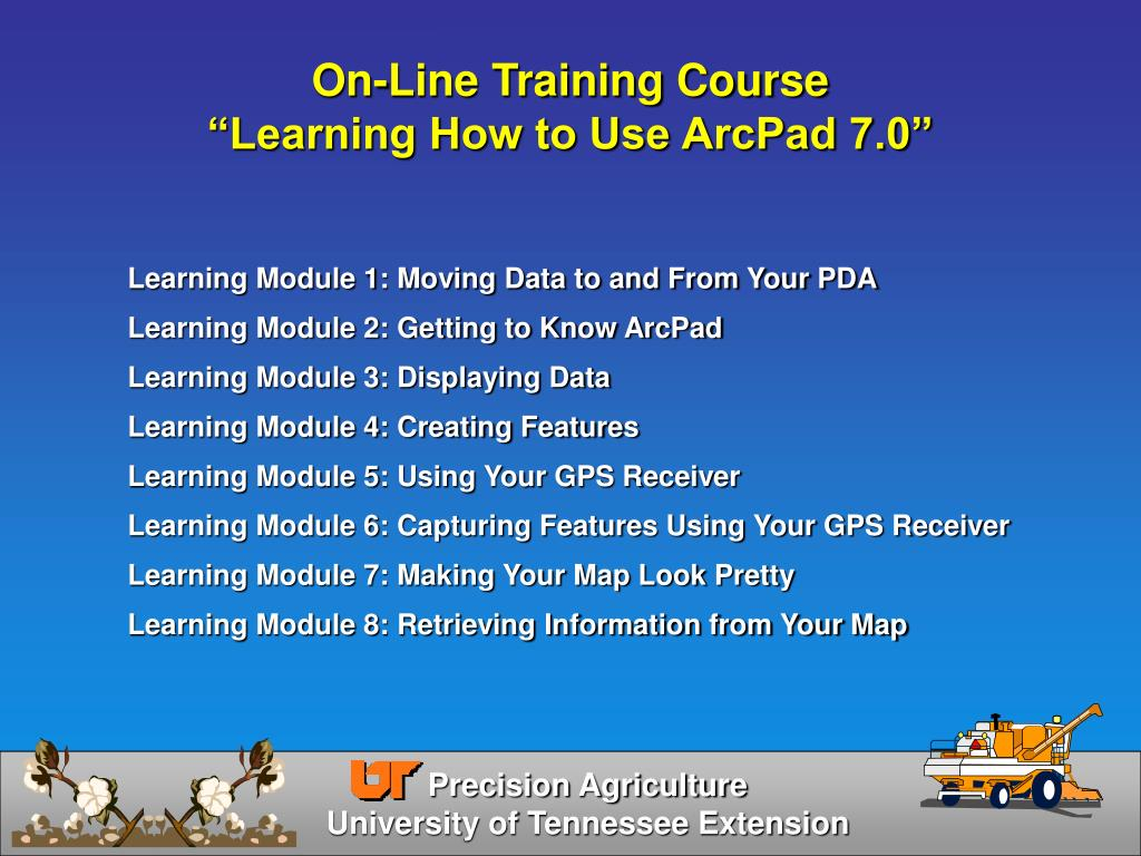 On-Line Training Course