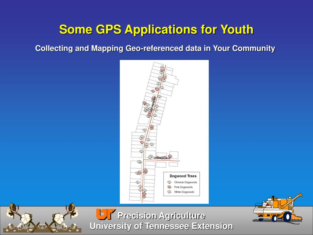 Some GPS Applications for Youth