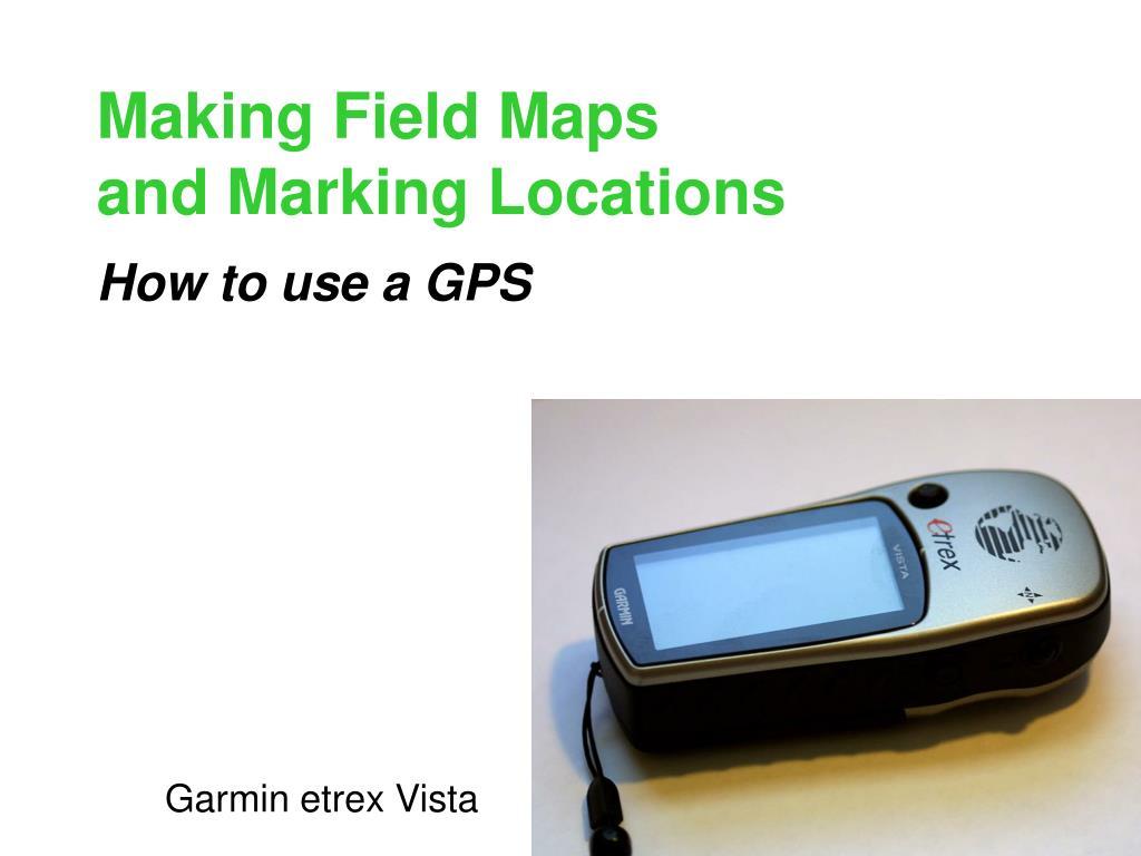 Making Field Maps