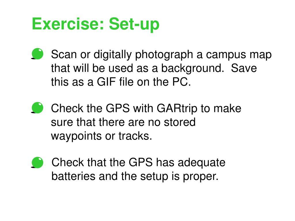 Exercise: Set-up